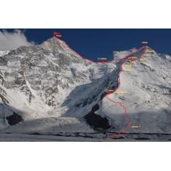 Описание классического маршрута на пик Хан-Тенгри с севера